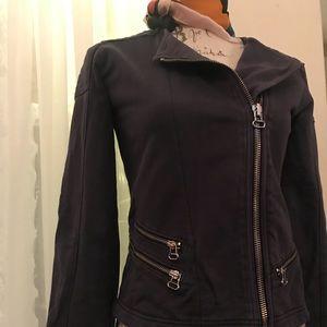 Gap old washed motorcycle jacket